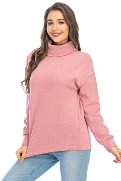 Aryeh Rose Turtle Neck Pullover - Product List Image