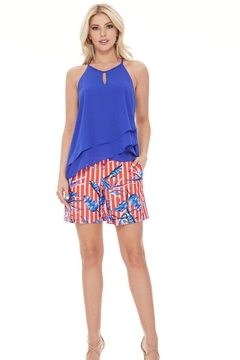 Aryeh Royal Blue Tank - Product List Image