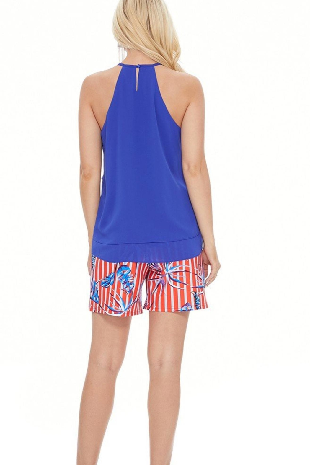 Aryeh Royal Blue Tank - Front Full Image