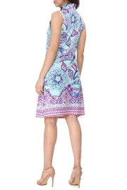 Aryeh Ruffle Neck Dress - Side cropped