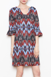Aryeh Ruffle Sleeve Dress - Product Mini Image