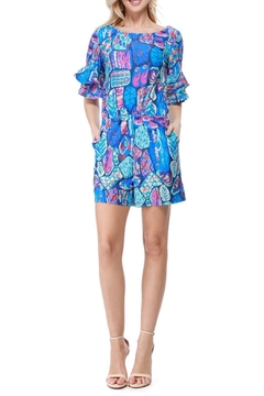 Aryeh Ruffle Sleeve Romper - Product List Image