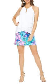 Aryeh Sky Floral Skort - Product Mini Image