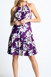 Aryeh Sleeveless Floral Dress - Product Mini Image