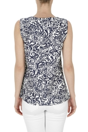 Aryeh Sleeveless Printed Top - Front full body