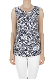 Aryeh Sleeveless Printed Top - Product Mini Image