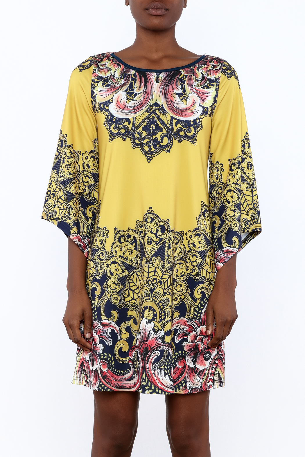 Aryeh Sundial Dress - Side Cropped Image