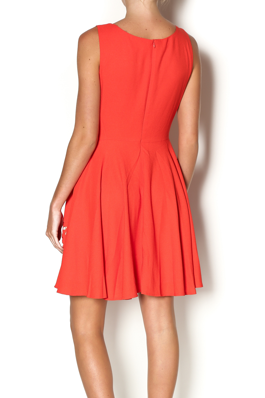 Aryeh Sunset Splendor Dress - Back Cropped Image