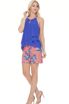 Aryeh Tropical Scarlet Shorts - Alternate List Image