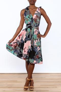 Aryeh Woven Floral Dress - Product List Image