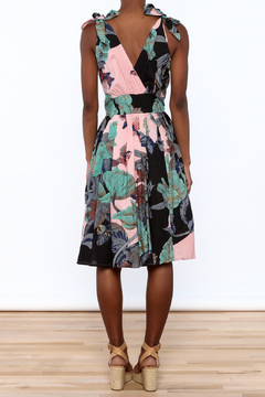 Aryeh Woven Floral Dress - Alternate List Image