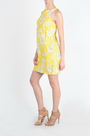 Aryeh Yellow Floral Dress - Side cropped