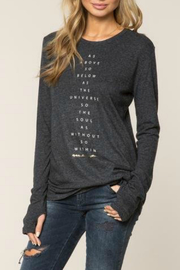 SPIRITUAL GANGSTER As Above So Below L/S Top - Product Mini Image