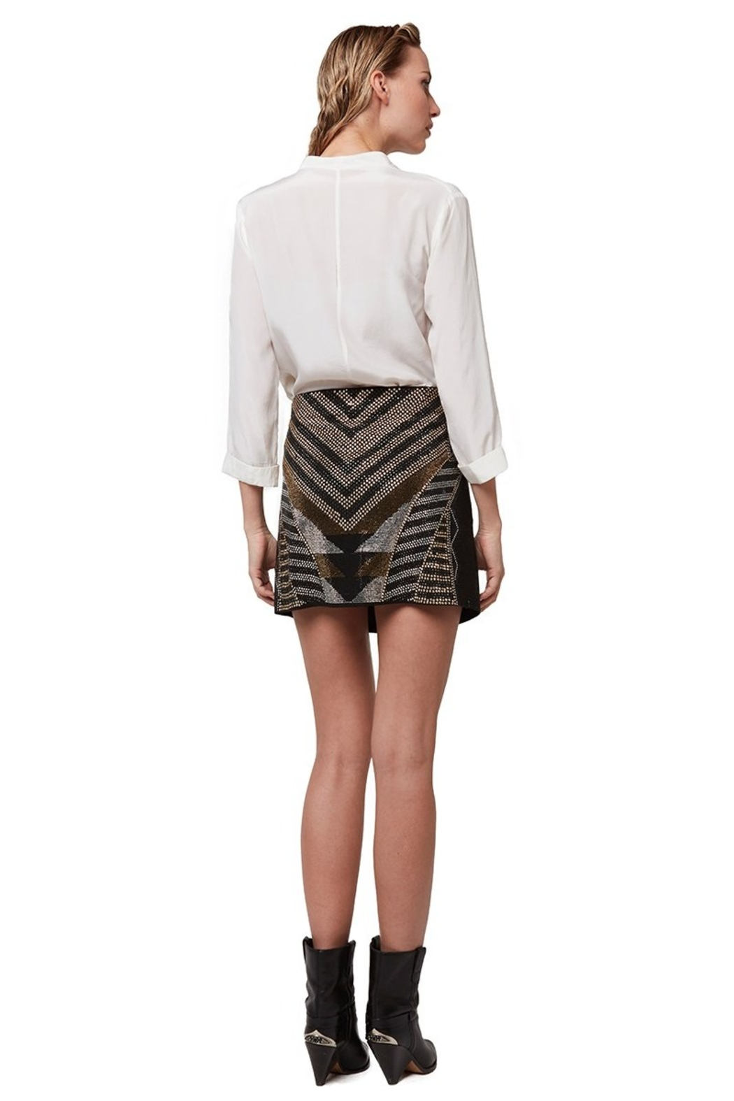 AS by DF Bruna Skirt - Side Cropped Image