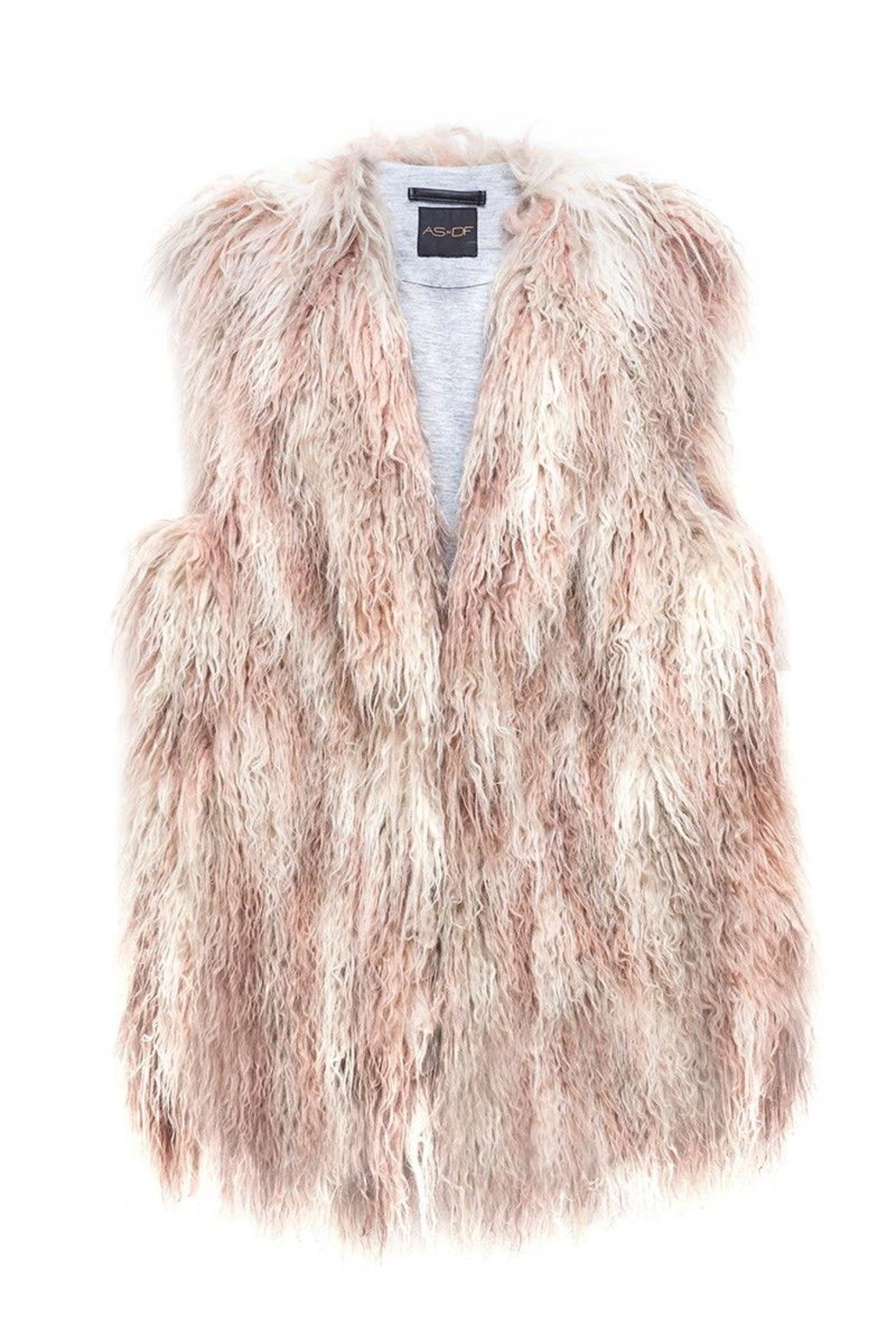 AS by DF Faux Fur Vest - Side Cropped Image