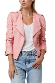 AS by DF La-Dolce-Vita Leather Jacket - Front cropped