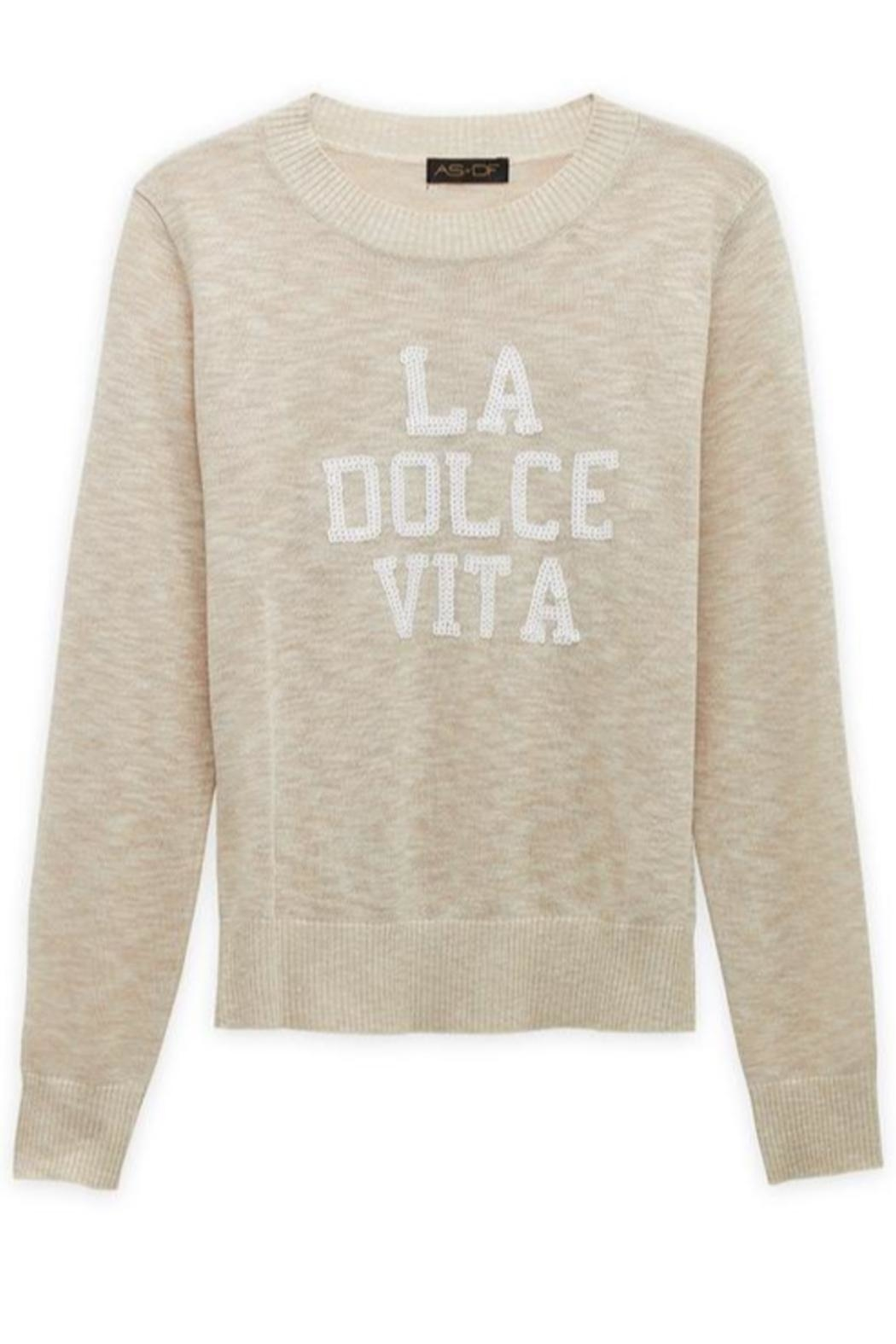 AS by DF La-Dolce-Vita Sweater - Side Cropped Image