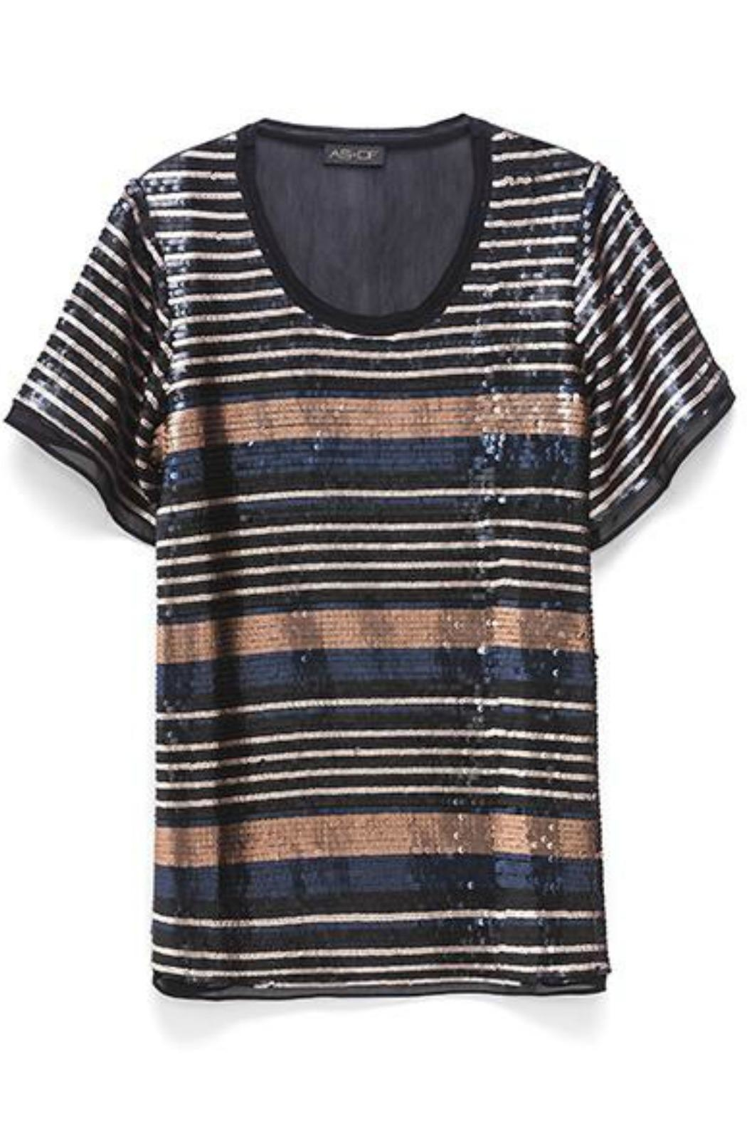 AS by DF Sequin Chiffon Tee - Main Image