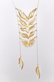 Alucik Ascend Necklace Gold - Product Mini Image