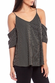 Asher by Fab'rik Alice Top Black - Front full body