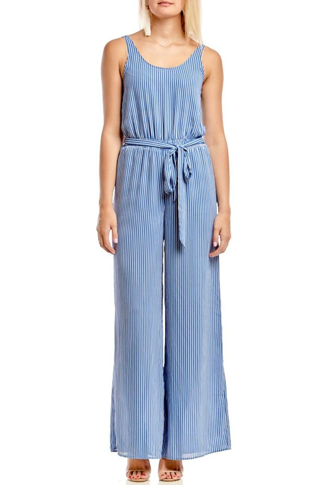 d7fe88b02eb4 Asher by Fab rik Benjamin Jumpsuit - Blue from Atlanta by Asher by ...