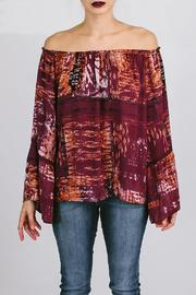 Asher by Fab'rik Fletcher Top Plum - Product Mini Image