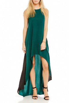 Asher by Fab'rik Harwell Dress - Emerald - Product List Image