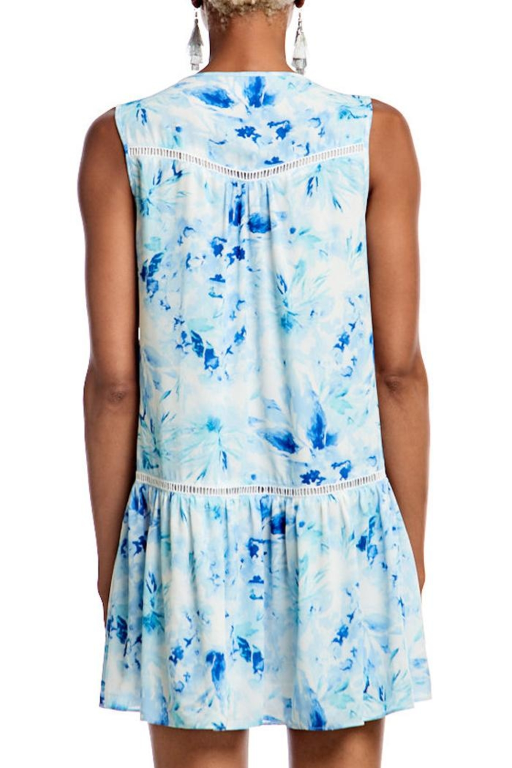 Asher by Fab'rik Lincoln Dress Blue - Side Cropped Image