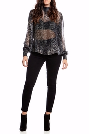 Asher by Fab'rik Peter Top - Black - Back cropped