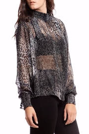 Asher by Fab'rik Peter Top - Black - Front full body