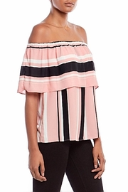 Asher by Fab'rik Wesley Top Pink - Side cropped