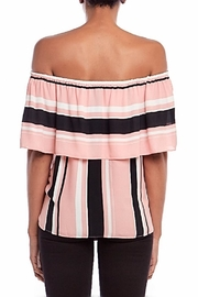 Asher by Fab'rik Wesley Top Pink - Back cropped