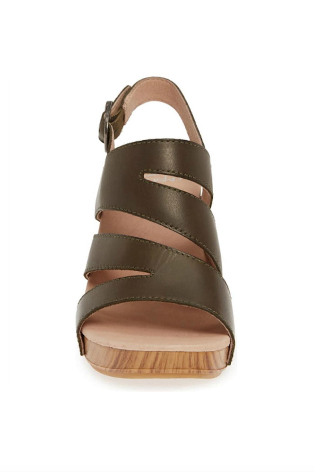 Dansko Ashlee Leather Sandal - Back Cropped Image