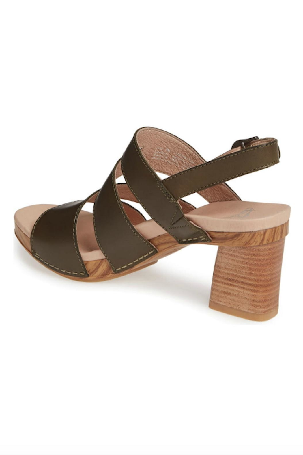 Dansko Ashlee Leather Sandal - Side Cropped Image