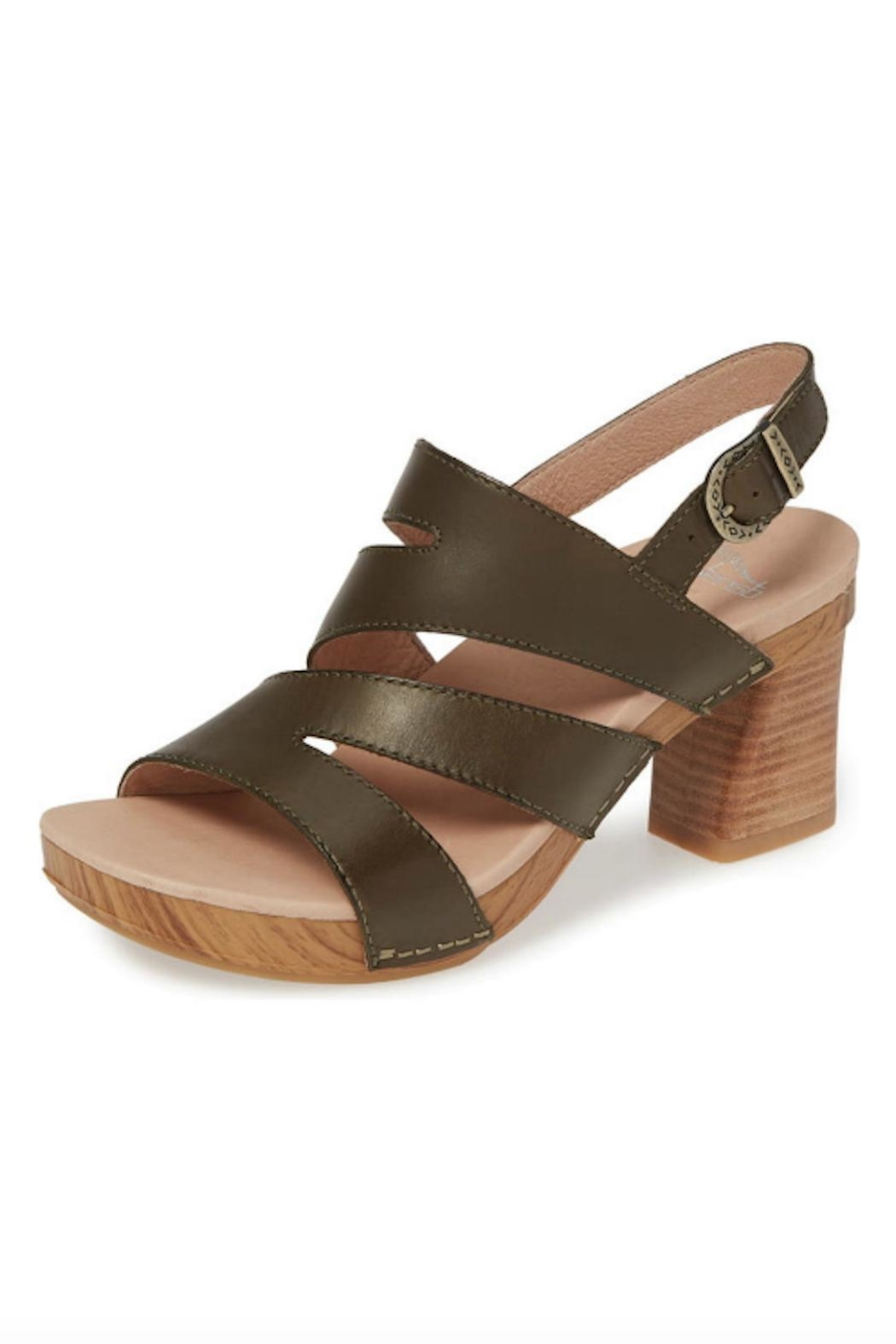 Dansko Ashlee Leather Sandal - Front Full Image