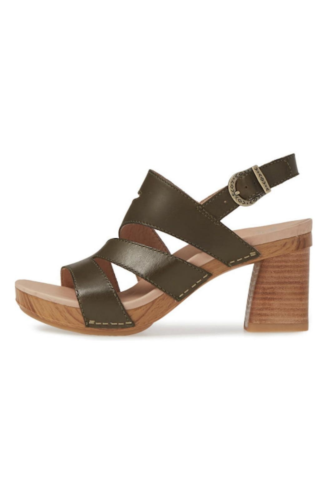 Dansko Ashlee Leather Sandal - Front Cropped Image