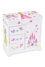 Jewelkeeper Ashley Musical Jewelry Box With Drawers - Product Mini Image