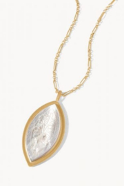 Spartina 449 Ashley River Carved Necklace 32