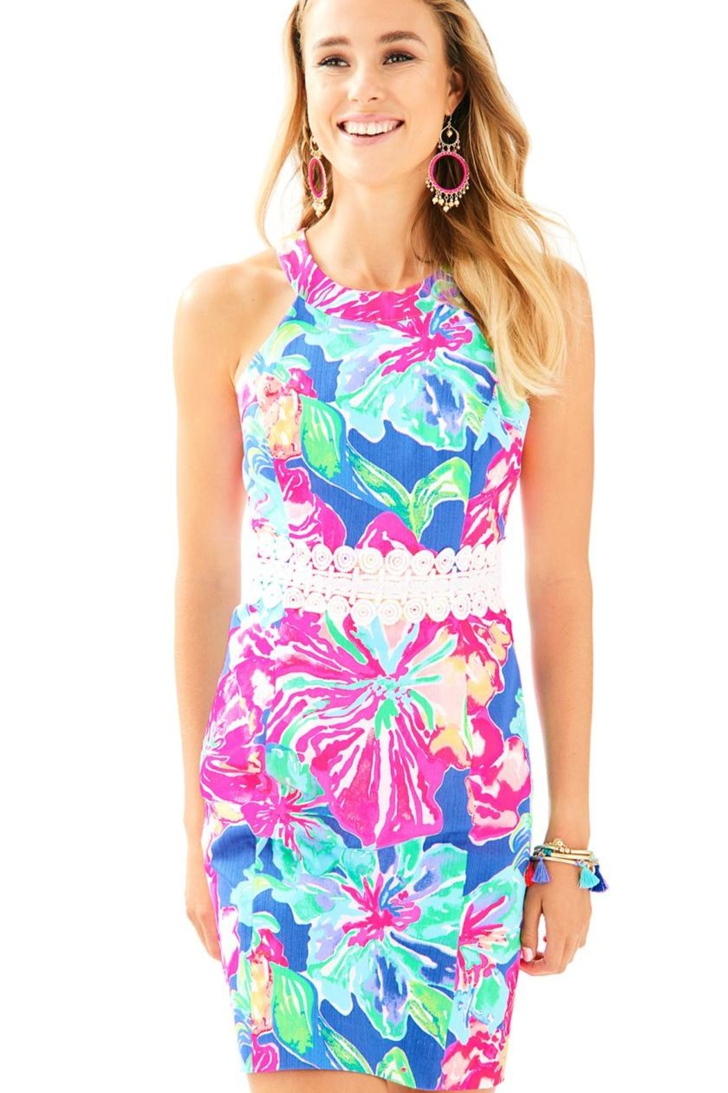 Lilly Pulitzer Ashlyn Shift Dress - Front Cropped Image