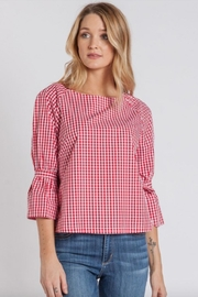 Velvet Heart Ashton Gingham Top - Product Mini Image