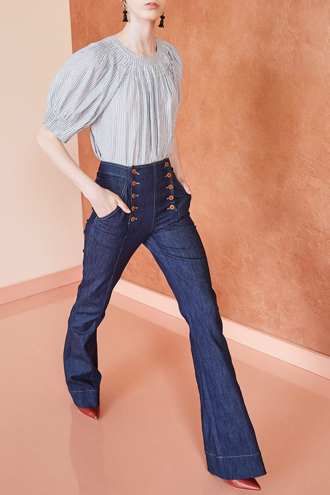 Ulla Johnson Ashton Indigo Jeans - Main Image