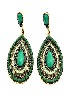 Shoptiques Product: Boho Drop Earrings