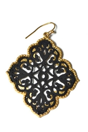 Asia Fashion  Moroccan-Inspired Earrings - Front cropped