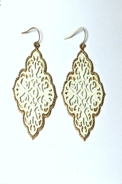 Shoptiques Product: Moroccan-Inspired Earrings