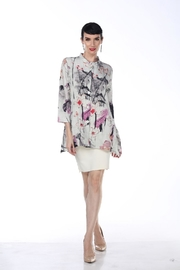 Aris A Asian Floral Jacket - Product Mini Image