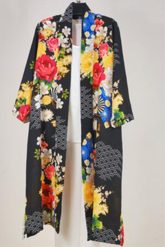 Patricia's Presents Asian inspired long jacket - Alternate List Image