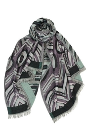 Asian Eye Augustine Two-Sided Scarf - Front cropped