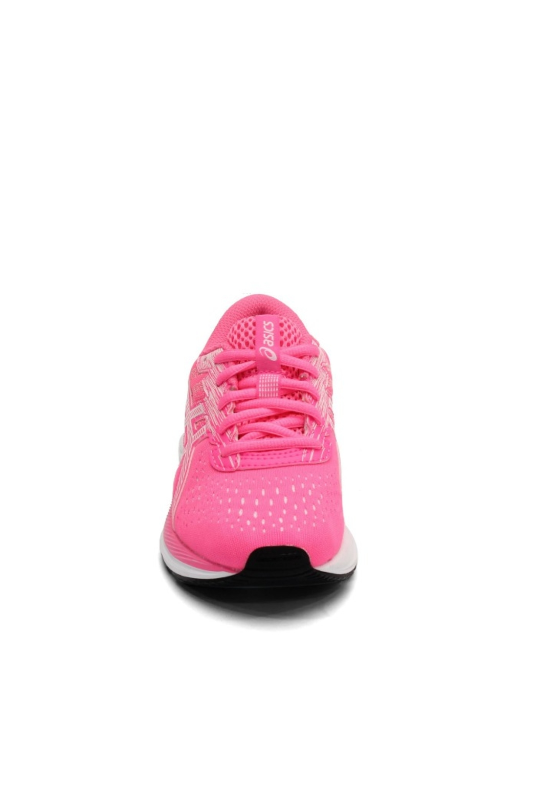 Asics Gel Excite 7 GS in Hot Pink/White - Side Cropped Image