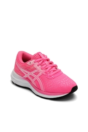 Asics Gel Excite 7 GS in Hot Pink/White - Front cropped