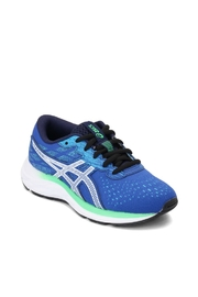 Asics Gel Excite 7 GS in  Blue/ White - Front cropped